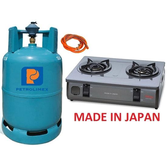Bộ bếp gas Paloma PAJ-S2B