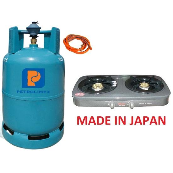 Bộ bếp gas Paloma PAJ-25B