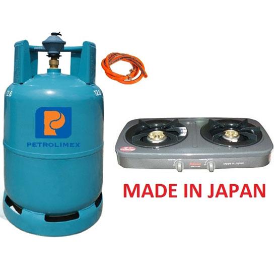 Bộ bếp gas dương Paloma PAJ-S25B