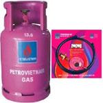 Bộ bình gas Petrovietnam 12kg